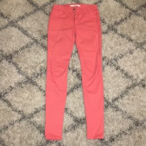 """Joe's """"the skinny"""" jeans. Coral. Size 29"""